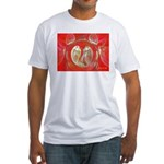 Love Birds Fitted T-Shirt