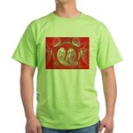 Love Birds Green T-Shirt