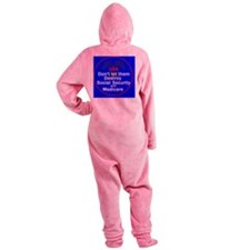 Social Security Footed Pajamas