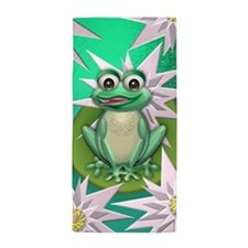 Princess frog Beach Towel