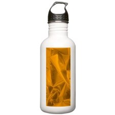 metalicFabricRust_flip Water Bottle