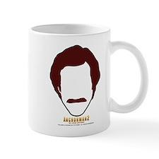 Anchorman Hair Small Mug