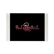 Bad Bride Rectangle Magnet (10 pack)