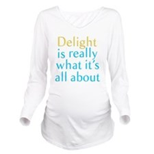 Delight Long Sleeve Maternity T-Shirt