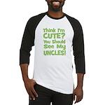 Think I'm Cute? UncleS (Plura Baseball Jersey