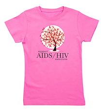 AIDSHIV-Tree Girl's Tee