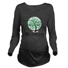 Bipolar-Disorder-Tre Long Sleeve Maternity T-Shirt