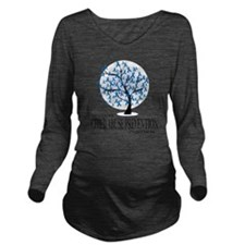 Child-Abuse-Tree Long Sleeve Maternity T-Shirt