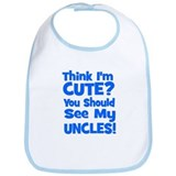 Think I'm Cute? UncleS (Plura Bib