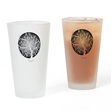 Diabetes-Tree-blk Drinking Glass