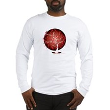 Heart-Disease-Tree-blk Long Sleeve T-Shirt