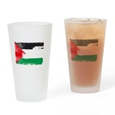 freepalestineengfrenw Drinking Glass