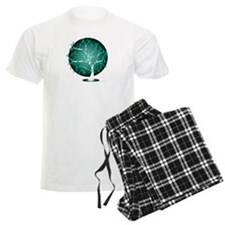 Ovarian-Cancer-Tree-blk pajamas