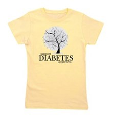 Diabetes-Tree Girl's Tee