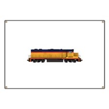 Train Engine: Chesapeake Colors Banner