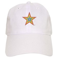 Rainbow Star Baseball Cap