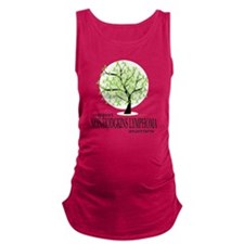 Non-Hodgkins-Lymphoma-Tree Maternity Tank Top