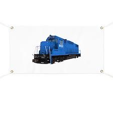 Blue Train Engine Banner