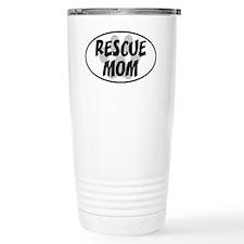 Rescue mom-white Ceramic Travel Mug