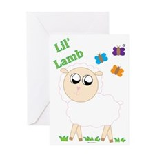 Lil Lamb Greeting Card
