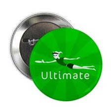 "Ultimate Frisbee 2.25"" Button (100 pack)"