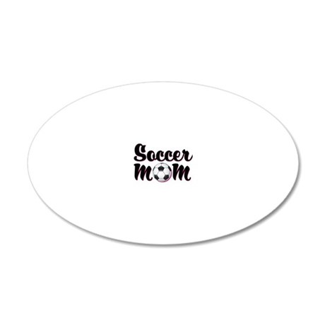 soccer_mom 20x12 Oval Wall Decal