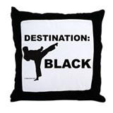 Karate Throw Pillows