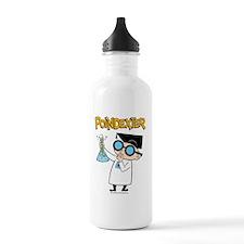 poindexter-test tube Water Bottle