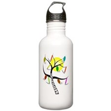 Gails RT Tree WHITE SH Water Bottle
