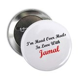 "In Love with Jamal 2.25"" Button (10 pack)"
