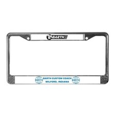 Barth License Plate Frame