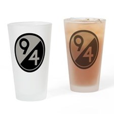 94th Division Drinking Glass