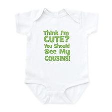 Think I'm Cute? CousinS (Plur Infant Bodysuit