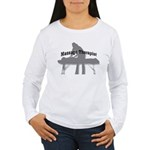 Massage Therapy Table Women's Long Sleeve T-Shirt