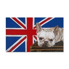 FrenchBull 5x7 Rectangle Car Magnet