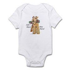 Welsh Terrier Bite! Onesie