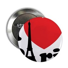 "iloveparis2A 2.25"" Button"