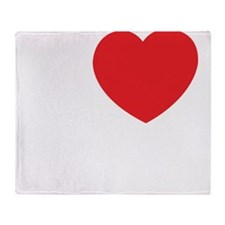 Iloveparis2 Throw Blanket