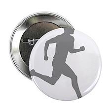"runner10inWHITE 2.25"" Button"