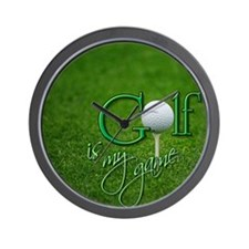 golfclock Wall Clock