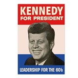 JFK / John F. Kennedy Postcards (Package of 8)