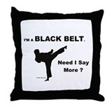 Cool Tae kwon do Throw Pillow