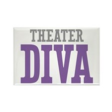 Theater DIVA Rectangle Magnet