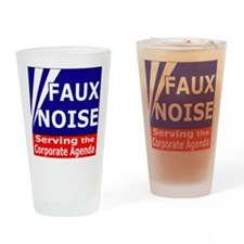 Faux NoiseCorporate Agenda Drinking Glass