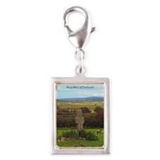 County Donegal Silver Portrait Charm