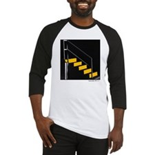 yellow stairs Baseball Jersey