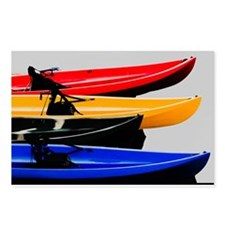 kayaks Postcards (Package of 8)