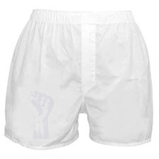 Ben_Fist_t-shirt_wht Boxer Shorts