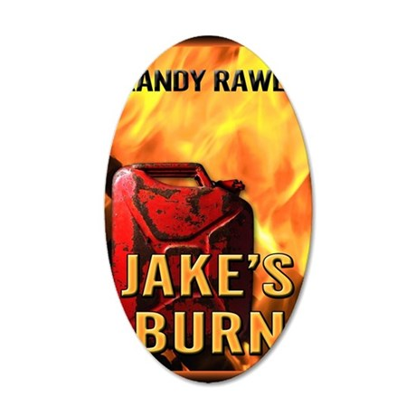 Jakes Burn mouse pad 35x21 Oval Wall Decal