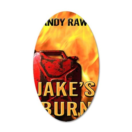 Jakes Burn 35x21 Oval Wall Decal